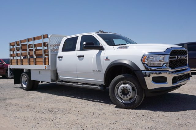 2020 Ram 5500 Crew Cab DRW 4x4, Stake Bed #57352D - photo 3