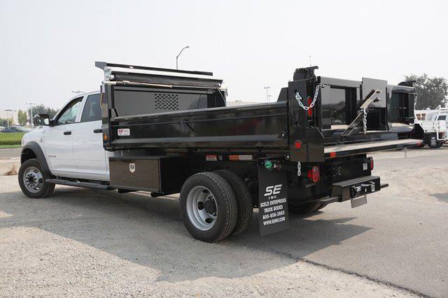 2020 Ram 5500 Crew Cab DRW 4x4, Scelzi Dump Body #57363D - photo 8