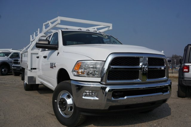 2018 Ram 3500 Crew Cab DRW 4x2,  Royal Contractor Body #57375D - photo 1