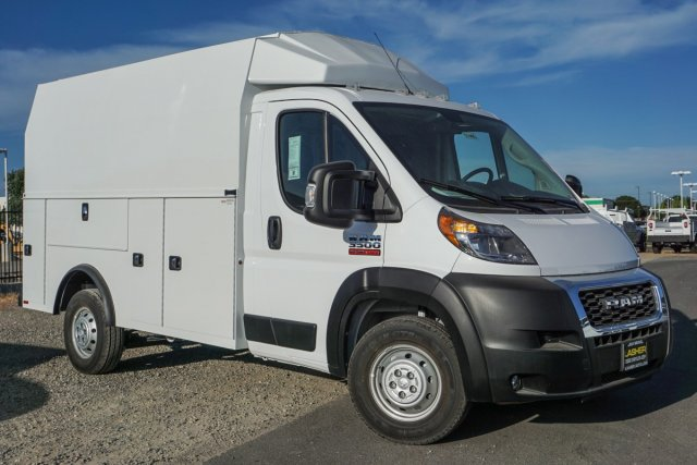 2019 ProMaster 3500 Standard Roof FWD,  Knapheide KUV Service Utility Van #57448D - photo 1