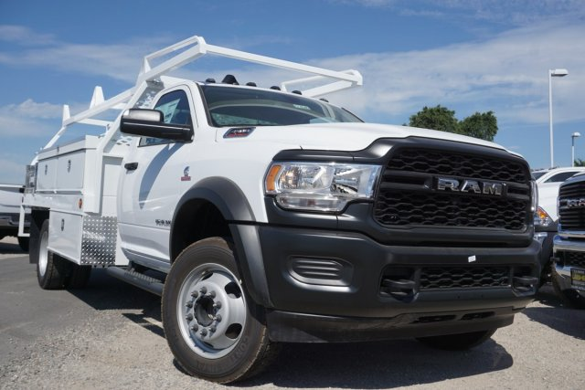 2019 Ram 4500 Regular Cab DRW 4x4,  Scelzi Contractor Body #57484D - photo 1