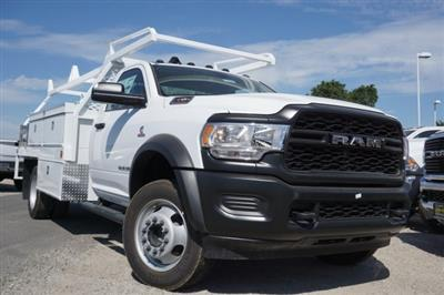 2019 Ram 4500 Regular Cab DRW 4x4, Scelzi CTFB Contractor Body #57484D - photo 1