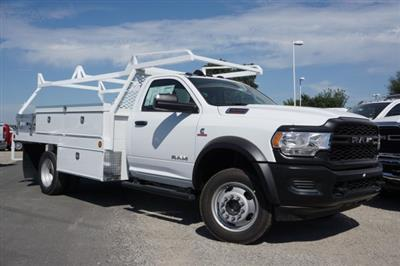 2019 Ram 4500 Regular Cab DRW 4x4, Scelzi CTFB Contractor Body #57484D - photo 3