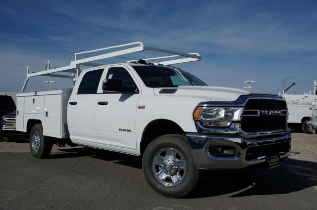 2019 Ram 3500 Crew Cab 4x2, Scelzi Signature Service Body #57485D - photo 3