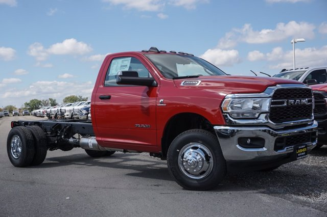 2020 Ram 3500 Regular Cab DRW 4x4, Cab Chassis #60156D - photo 1