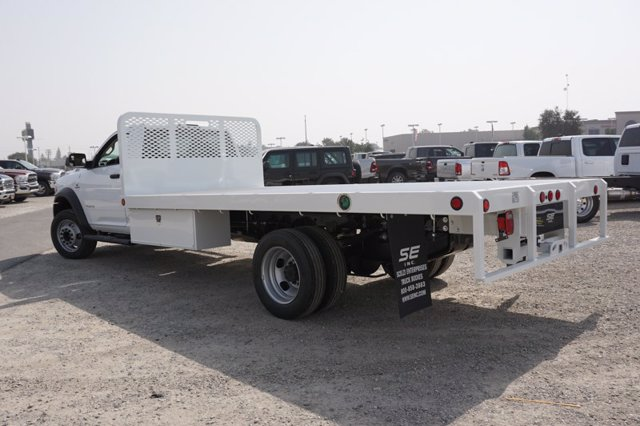 2020 Ram 5500 Regular Cab DRW 4x2, Scelzi WFB Platform Body #61257D - photo 2