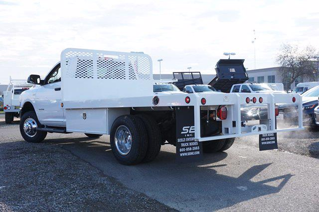 2020 Ram 3500 Regular Cab DRW 4x2, Scelzi WFB Platform Body #61260D - photo 2