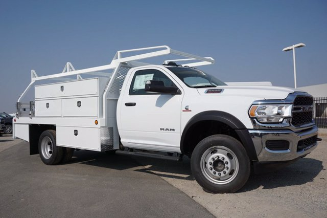 2020 Ram 5500 Regular Cab DRW 4x4, Scelzi SCTFB Contractor Body #61261D - photo 3