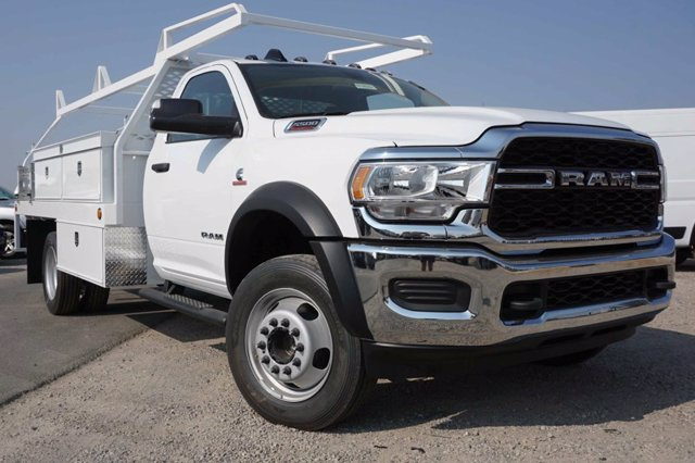 2020 Ram 5500 Regular Cab DRW RWD, Scelzi CTFB Contractor Body #61262D - photo 1