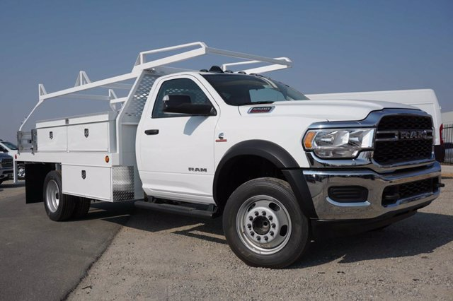 2020 Ram 5500 Regular Cab DRW RWD, Scelzi CTFB Contractor Body #61262D - photo 3
