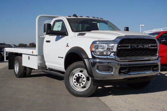 2020 Ram 5500 Regular Cab DRW 4x4, Scelzi Platform Body #61271D - photo 1