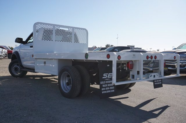 2020 Ram 5500 Regular Cab DRW 4x4, Scelzi WFB Platform Body #61274D - photo 8
