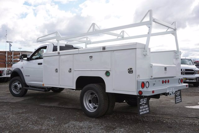 2020 Ram 5500 Regular Cab DRW 4x4, Scelzi Service Body #61275D - photo 1