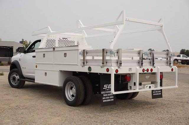 2021 Ram 5500 Regular Cab DRW 4x2,  Scelzi CTFB Contractor Body #62684D - photo 7