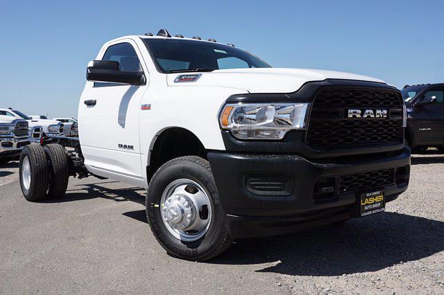 2021 Ram 3500 Regular Cab DRW 4x2, Cab Chassis #63609D - photo 1
