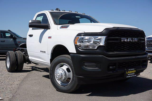 2021 Ram 3500 Regular Cab DRW 4x2, Cab Chassis #63614D - photo 1