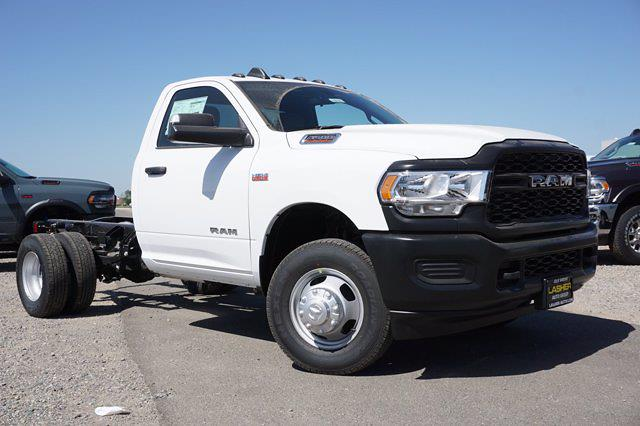 2021 Ram 3500 Regular Cab DRW 4x2, Cab Chassis #63614D - photo 3