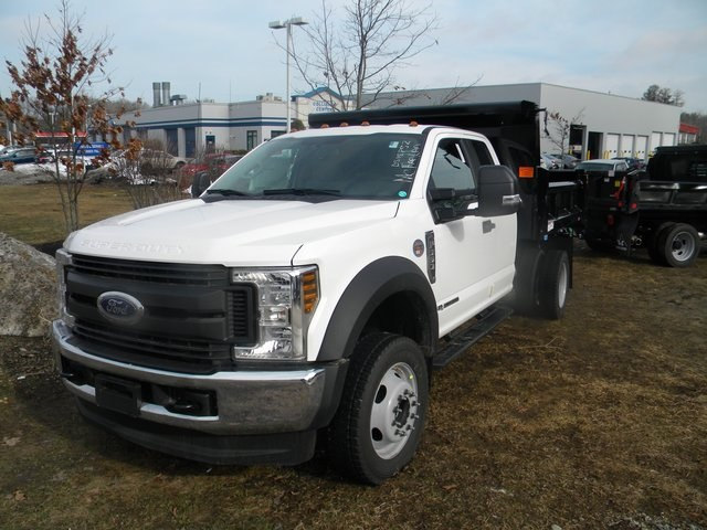2018 F-550 Super Cab DRW 4x4,  Rugby Dump Body #7422 - photo 3
