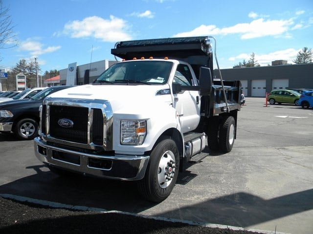 2018 F-650 Regular Cab DRW 4x2,  Crysteel Dump Body #7546 - photo 3