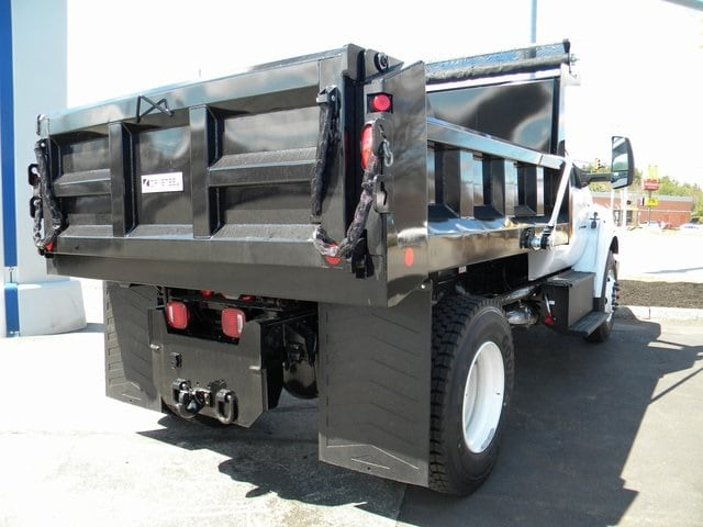 2018 F-650 Regular Cab DRW 4x2,  Crysteel Dump Body #7546 - photo 2