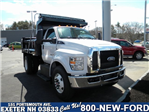 2018 F-650 Regular Cab DRW 4x2,  Crysteel Dump Body #7546 - photo 1