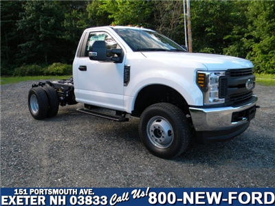 2018 F-350 Regular Cab DRW 4x4,  Cab Chassis #7695 - photo 1