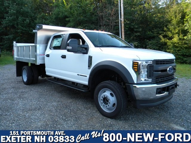 2018 F-450 Crew Cab DRW 4x4,  Dump Body #7710 - photo 1