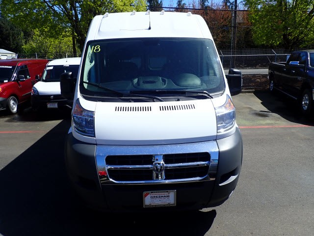 2018 ProMaster 2500 High Roof, Cargo Van #D24807 - photo 3