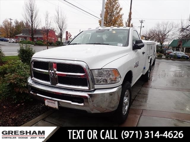 2018 Ram 3500 Regular Cab 4x4,  Knapheide Standard Service Body #D47351 - photo 1