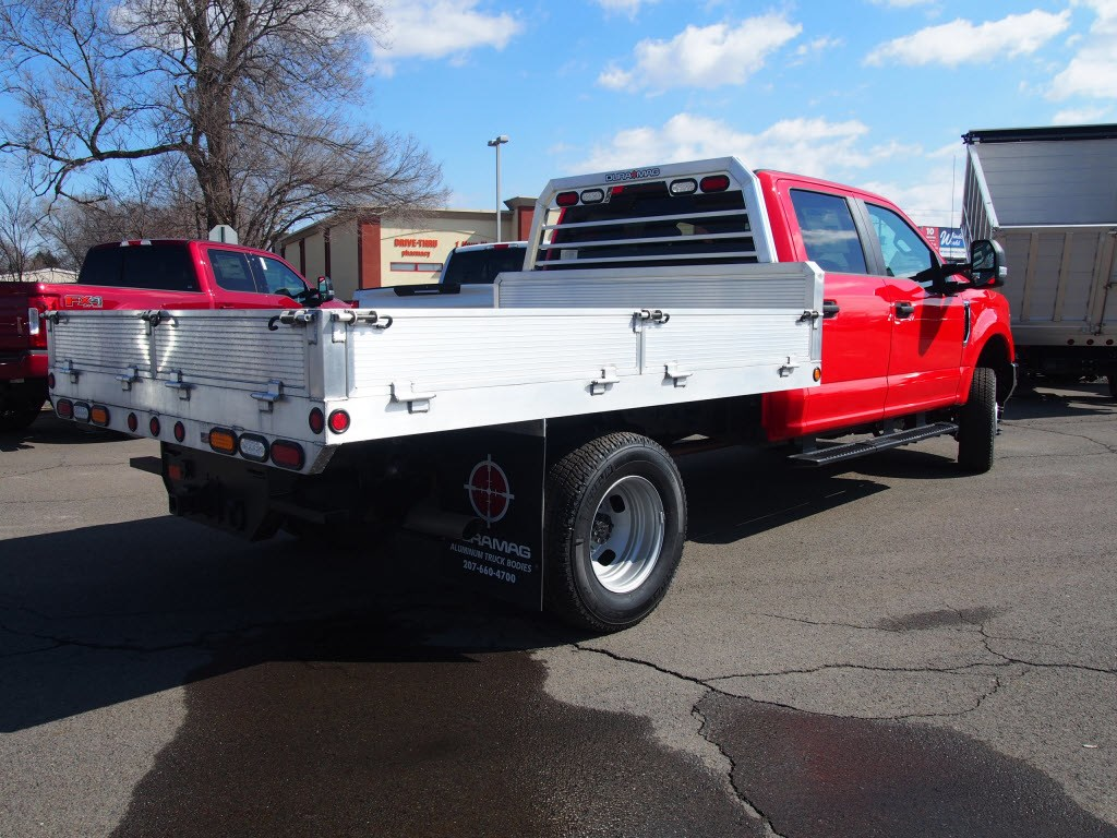 2019 F-350 Crew Cab DRW 4x4,  Duramag Platform Body #10050T - photo 1