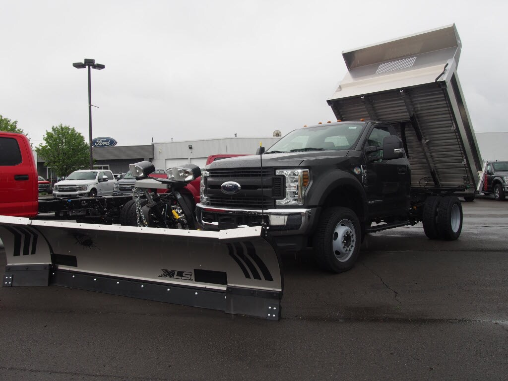 2019 F-550 Regular Cab DRW 4x4,  Duramag Dump Body #10051T - photo 4