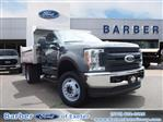 2019 F-550 Regular Cab DRW 4x4,  Duramag Dump Body #10051T - photo 1
