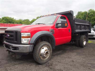 2008 F-550 Regular Cab DRW 4x4,  Dump Body #10052A - photo 1