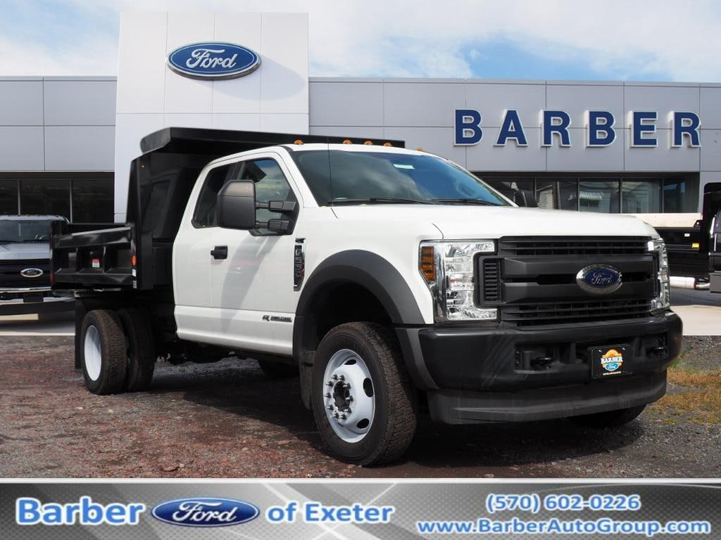 2019 Ford F-550 Super Cab DRW 4x4, Reading Marauder Dump Body #10096T - photo 1