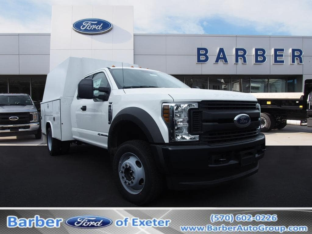 2019 F-550 Super Cab DRW 4x4,  Reading Service Body #10096T - photo 1