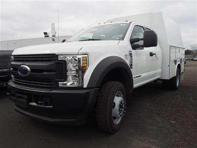2019 F-550 Super Cab DRW 4x4,  Reading Panel Service Body #10096T - photo 3