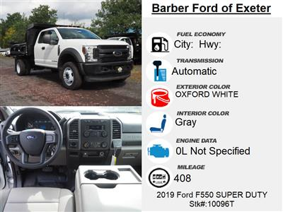 2019 Ford F-550 Super Cab DRW 4x4, Reading Marauder Dump Body #10096T - photo 16