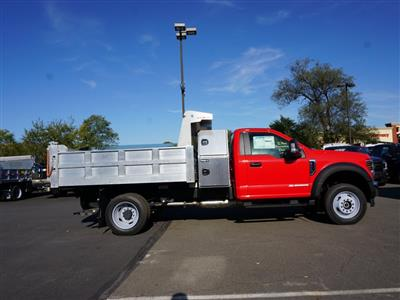 2019 F-550 Regular Cab DRW 4x4, Duramag Dump Body #10154T - photo 4
