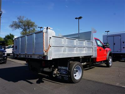 2019 F-550 Regular Cab DRW 4x4, Duramag Dump Body #10154T - photo 2