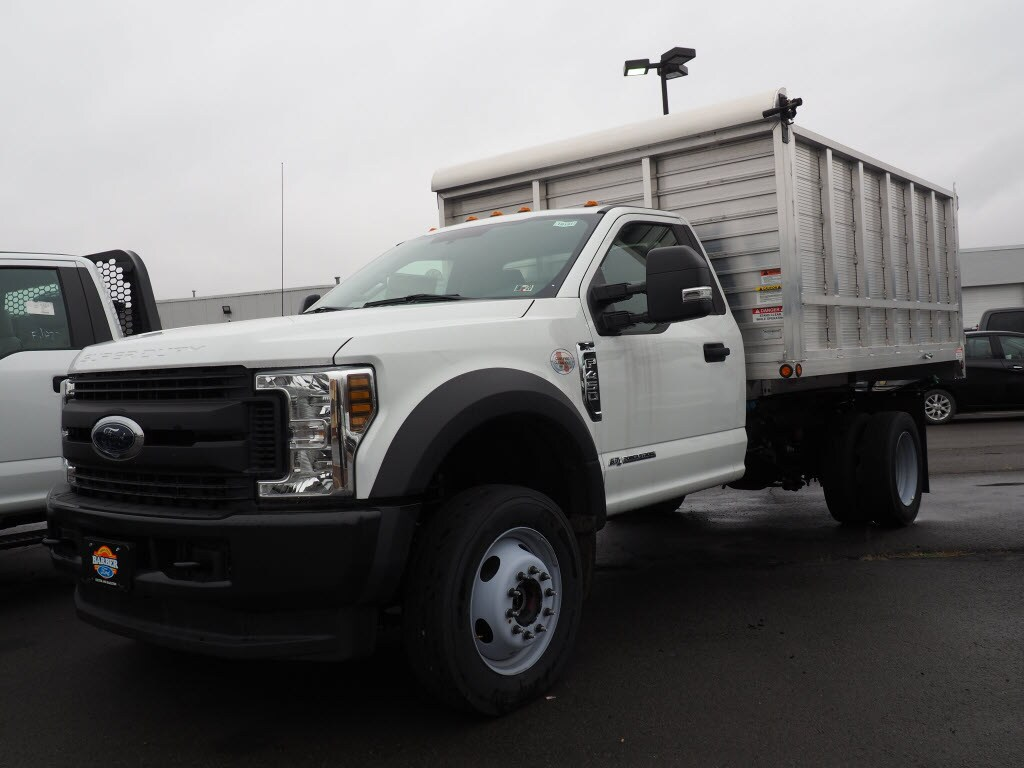 2019 F-450 Regular Cab DRW 4x4, Landscape Dump #10191T - photo 4