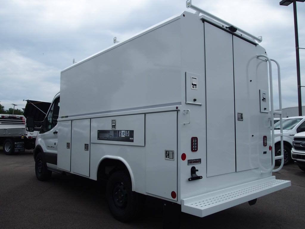 2019 Transit 350 4x2,  Reading Aluminum CSV Service Utility Van #10215T - photo 5