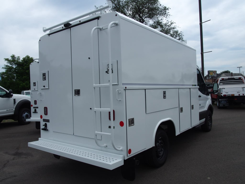 2019 Transit 350 4x2,  Reading Aluminum CSV Service Utility Van #10215T - photo 2