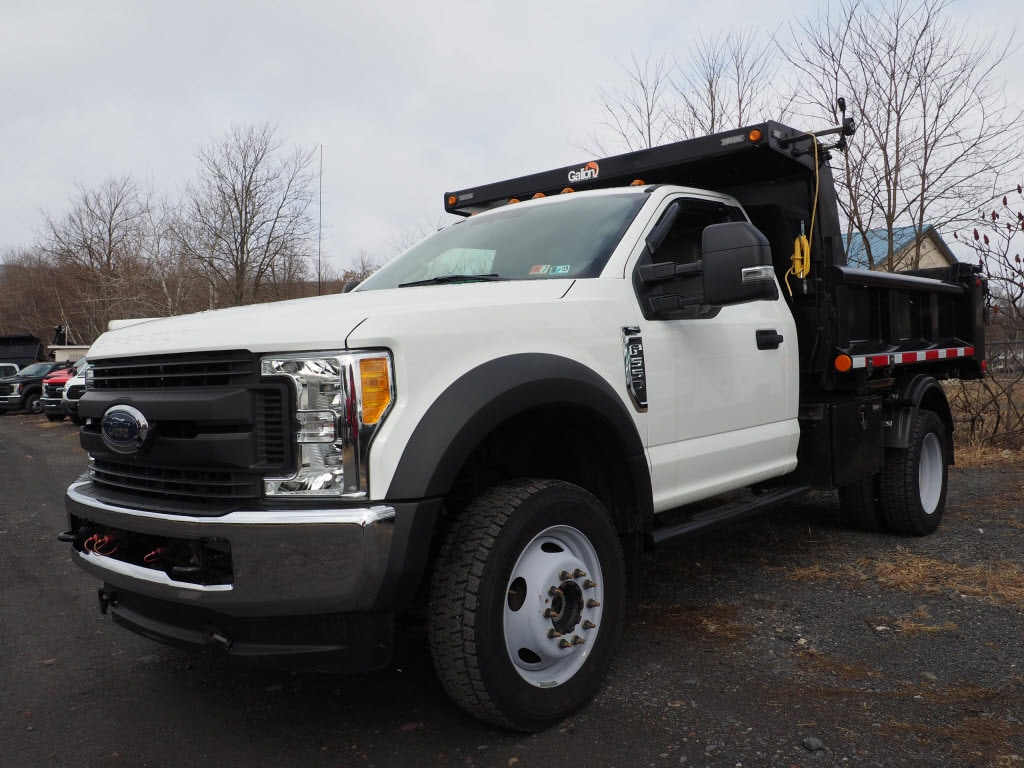 2017 F-550 Regular Cab DRW 4x4, Dump Body #10263B - photo 1