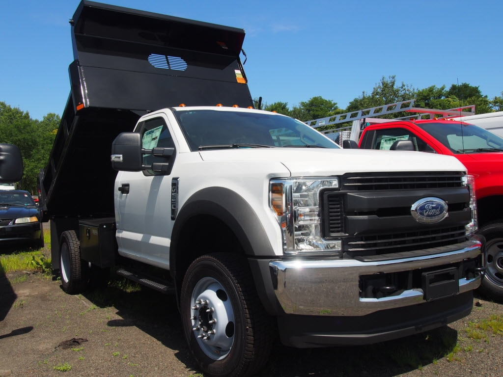 2019 F-550 Regular Cab DRW 4x4,  Rugby Eliminator LP Steel Dump Body #10263T - photo 1
