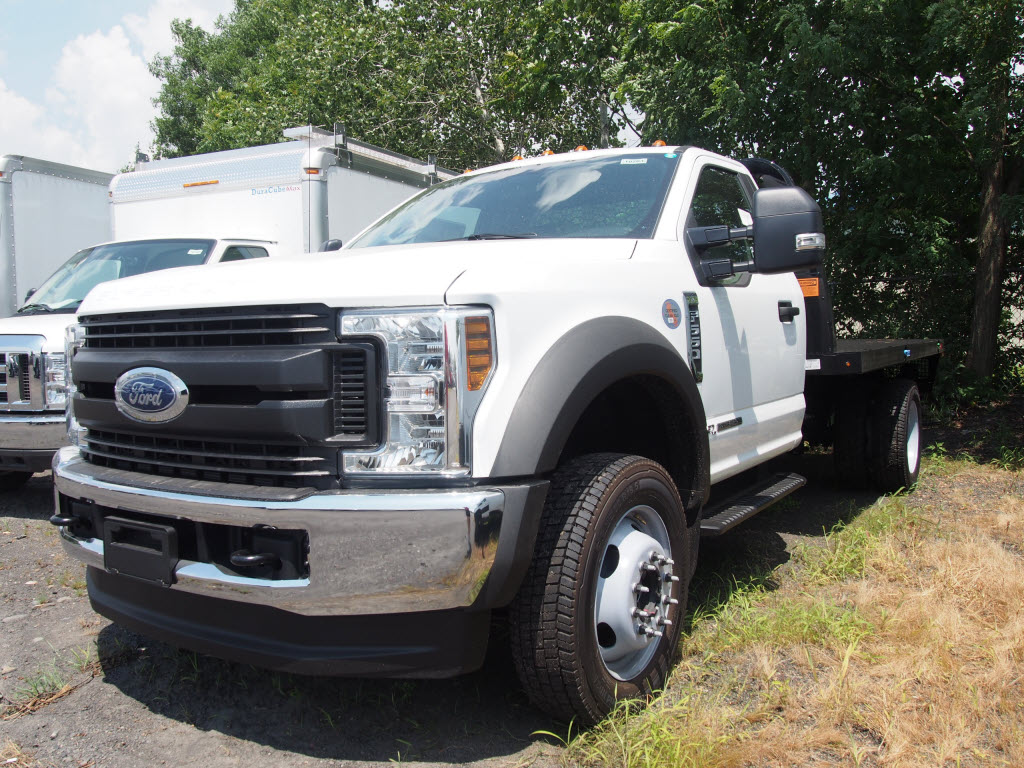 2019 Ford F-550 Regular Cab DRW 4x4, Knapheide PGNB Gooseneck Platform Body #10264T - photo 4