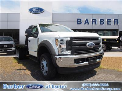 2019 Ford F-550 Regular Cab DRW 4x4, Knapheide PGNB Gooseneck Platform Body #10264T - photo 1