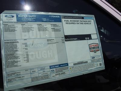 2019 F-450 Super Cab DRW 4x4, Rugby Eliminator LP Steel Dump Body #10288T - photo 7