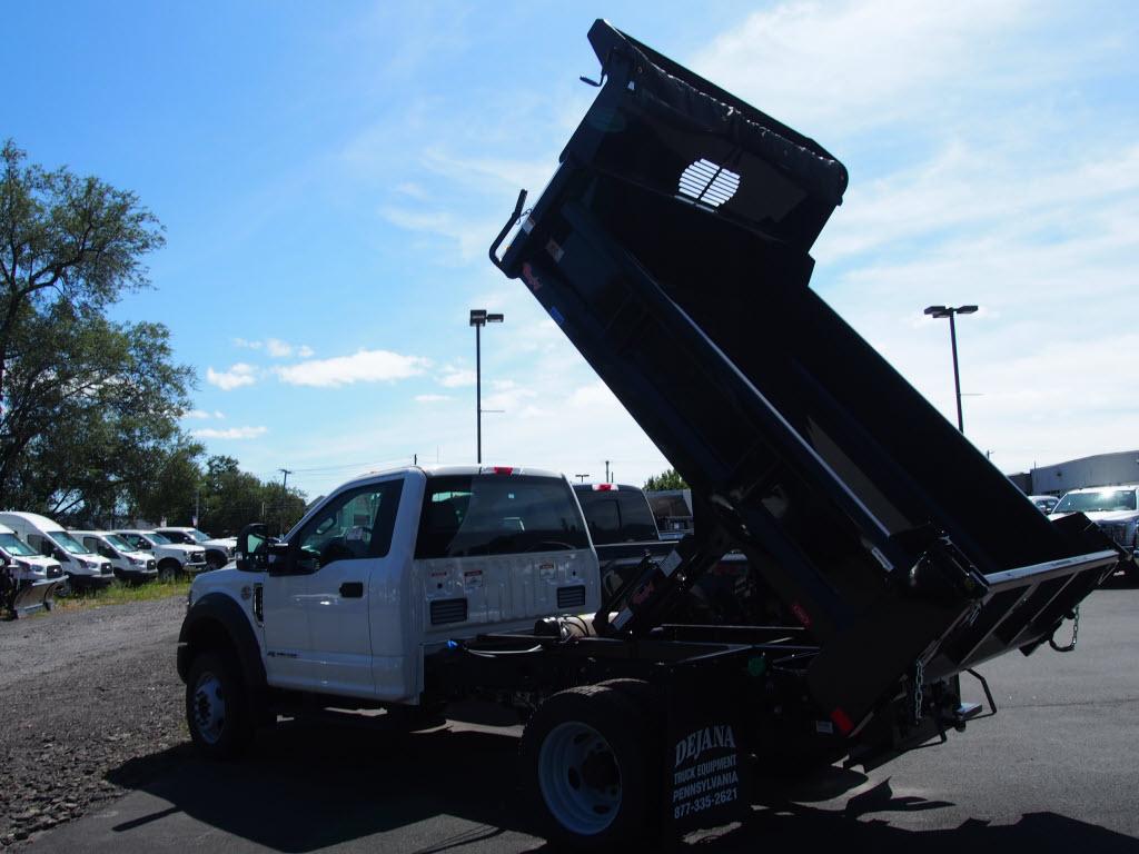 2019 F-550 Regular Cab DRW 4x4, Rugby Eliminator LP Steel Dump Body #10293T - photo 4