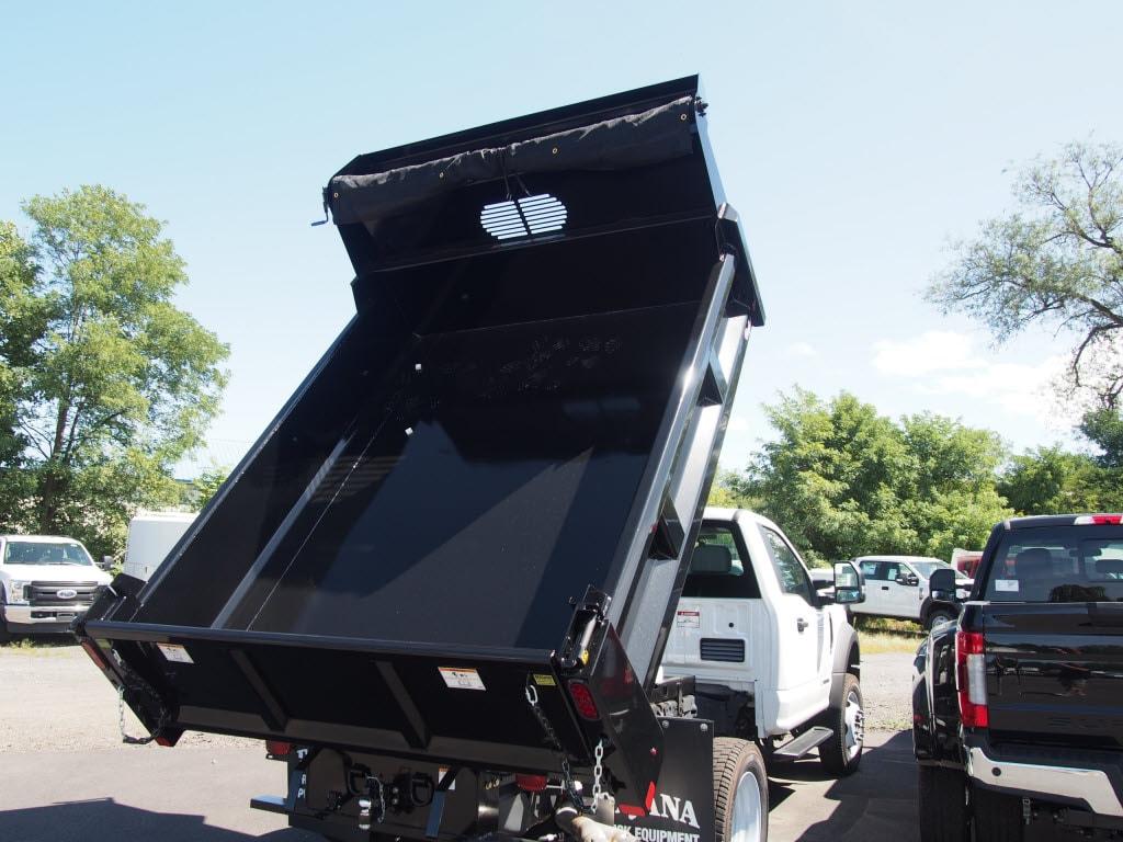 2019 Ford F-550 Regular Cab DRW 4x4, Rugby Dump Body #10293T - photo 1