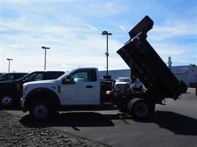 2019 F-550 Regular Cab DRW 4x4, Rugby Eliminator LP Steel Dump Body #10293T - photo 6